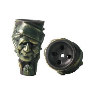 фигурная чаша для кальяна Черный Билл