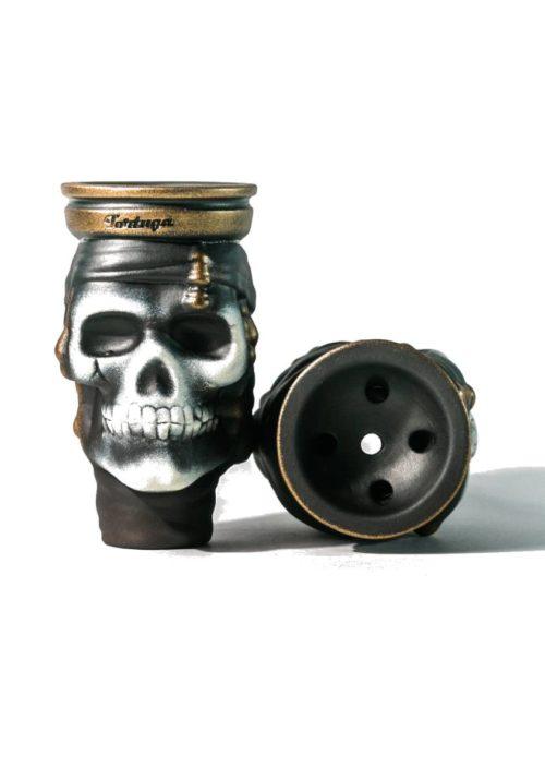 чаша для кальяна черный джек бронза
