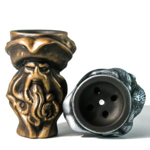 чаша для кальяна дейви джонс бронза